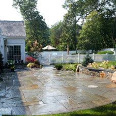 Traditional Patio by Captain's Landscape Design & Build