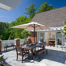 Traditional Patio by Studio One Architecture, Inc.
