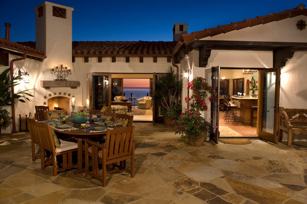 Mediterranean Patio by James Glover Residential & Interior Design