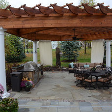 Traditional Patio by BellaWood Builders