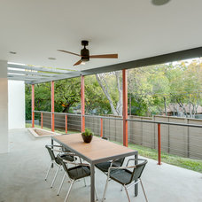 Contemporary Patio by Durham Builders