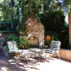 Mediterranean Patio by Stephanie Wiley Photography