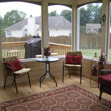 Contemporary Patio by Earnestine Bryant