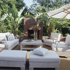 Rustic Patio by Thom Filicia Inc.