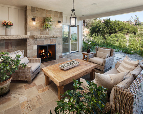 Tile Fireplace Wall Houzz
