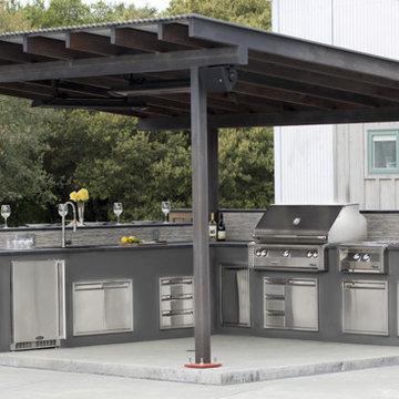 East Sonoma Outdoor Kitchen