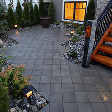 Traditional Patio by Square Root Contracting & Consulting