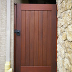 Affinity Fence Gate Traditional Exterior San Diego