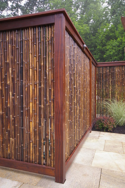 asian patio by Environmental Landscape Associates