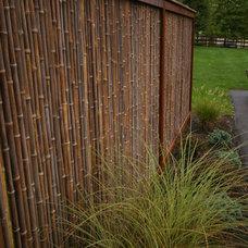 Asian Patio by Environmental Landscape Associates