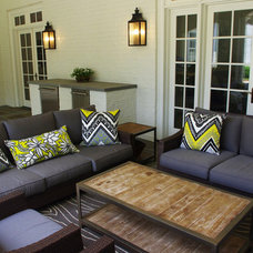 Contemporary Patio by Holly Phillips @ The English Room