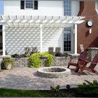 Concrete Porch Treatment Traditional Patio Indianapolis