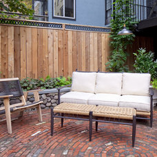 Eclectic Patio by New Eco Landscapes