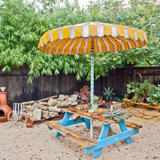 Eclectic Patio by Sarah Natsumi Moore