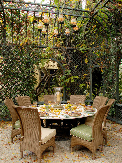Elegant Patio Photo In Los Angeles With A Gazebo
