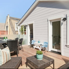 Contemporary Patio by Eco+Historical, Inc.