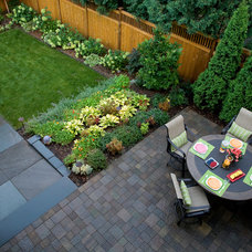Transitional Patio by Southview Design