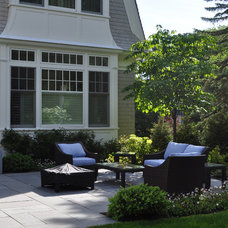 Traditional Patio by Jacalyn Gould Landscape Architect