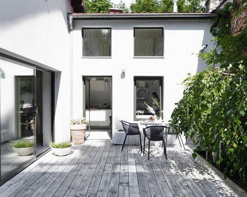 Houzz scandinavian courtyard garden and outdoor design for Courtyard renovation ideas
