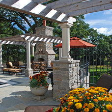 Traditional Patio by Plandscape, Inc.