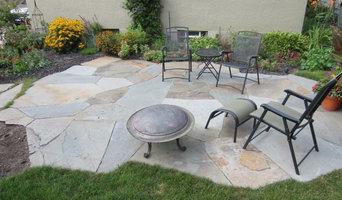 Eleanor Ave Flagstone patio