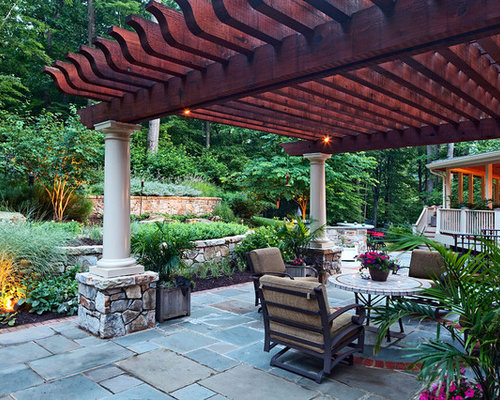 Pergola designs home design ideas pictures remodel and decor for Pergola images houzz