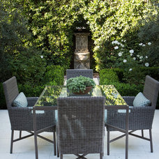 Traditional Patio by Charmean Neithart Interiors, LLC.