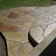 Traditional Patio by Elite Crete of Michigan