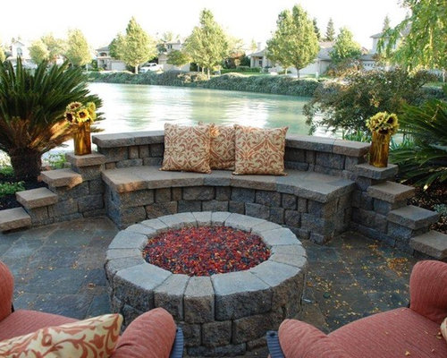 Pavestone Paver Seat Wall Home Design Ideas Pictures