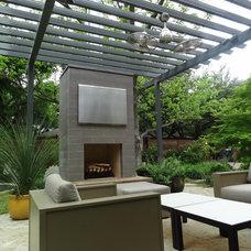 Modern Patio by Ellen Grasso & Sons, LLC
