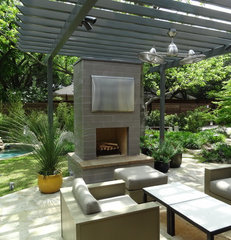 modern patio by Ellen Grasso & Sons, LLC