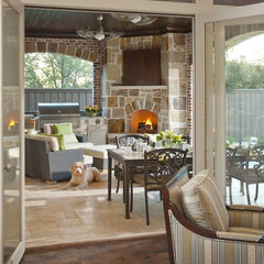 traditional patio by Ellen Grasso & Sons, LLC