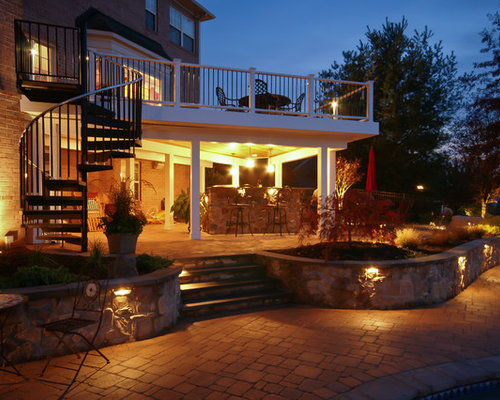 Under Deck Patio Ideas Pictures Remodel And Decor