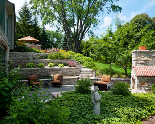 Best walkout basement landscaping design ideas remodel Walkout basement landscaping pictures