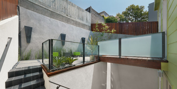 Contemporary Patio by Rossington Architecture