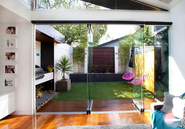 Contemporary Patio by Sketch Building Design