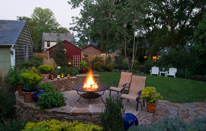 7 Outdoor Fire Features Fuel the Soul