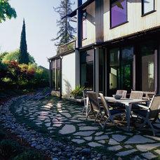 Contemporary Patio by Drew Maran Construction