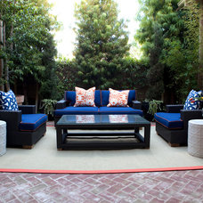 Contemporary Patio by Emily Ruddo