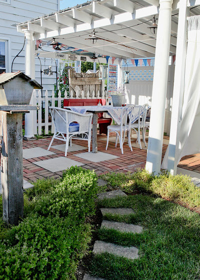 Traditional Patio by Julie Ranee Photography