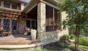 Enclosed Patio with Outdoor Weatherwell Elite Aluminum Shutters