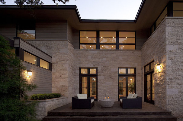 Contemporary Patio by Jay Corder, Architect