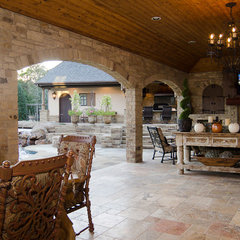 traditional patio by Brent Gibson Classic Home Design