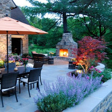 Traditional Patio by Burke Brothers Landscape Design/Build