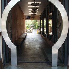 Asian Patio by Home & Garden Construction Group