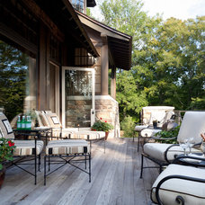 Traditional Patio by Kate Jackson Design