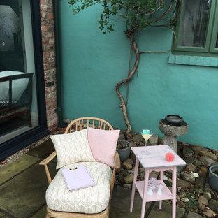 Idee per un patio o portico shabby-chic style