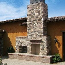Mediterranean Patio by Coronado Stone Products