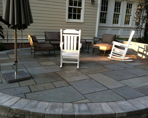 Lovely Essex County, NJ Patio   Natural Cleft Bluestone Patio