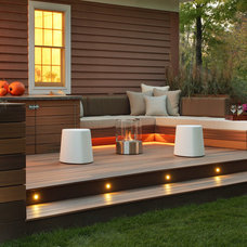 Modern Patio by Karen Garlanger Designs, LLC